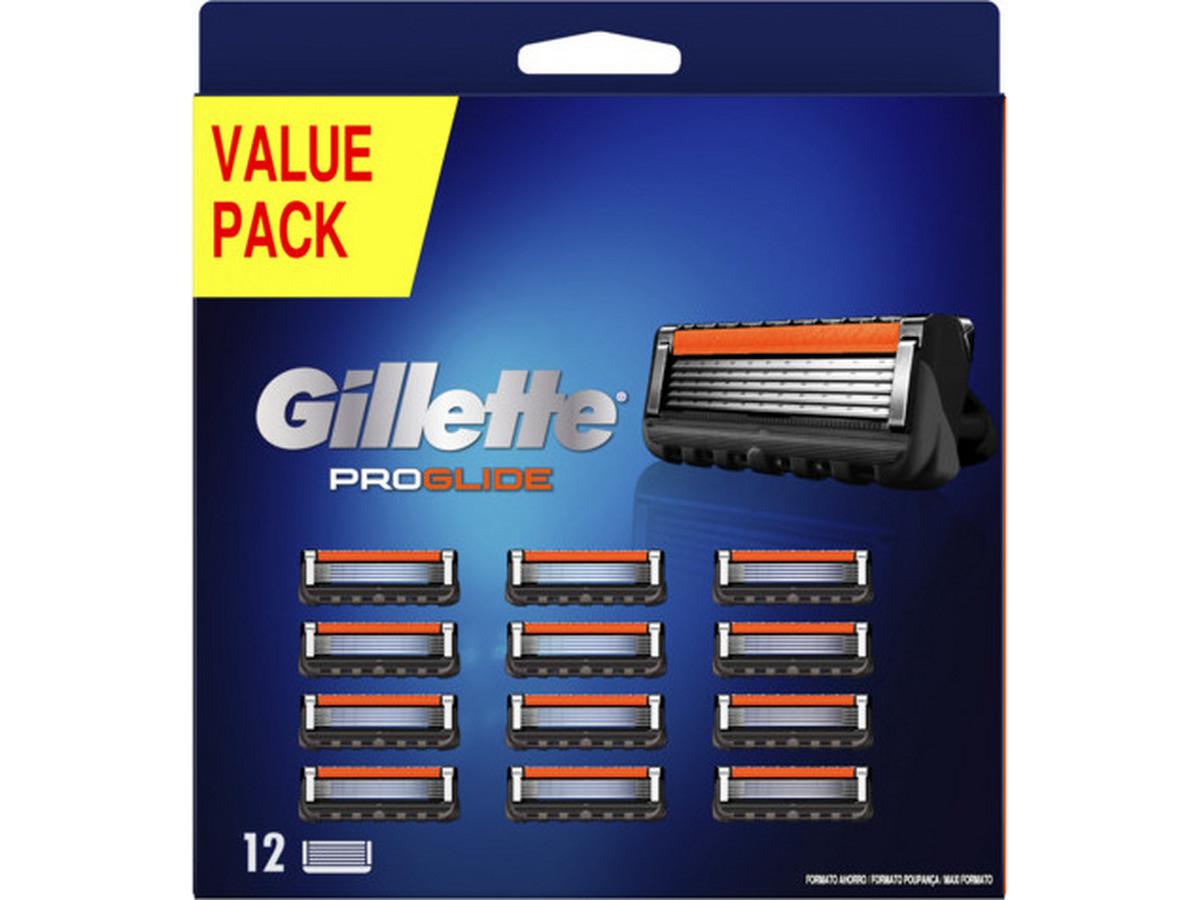 12x Gillette Fusion5 ProGlide Rasierklinge (entspricht 2,08€ pro Stück)