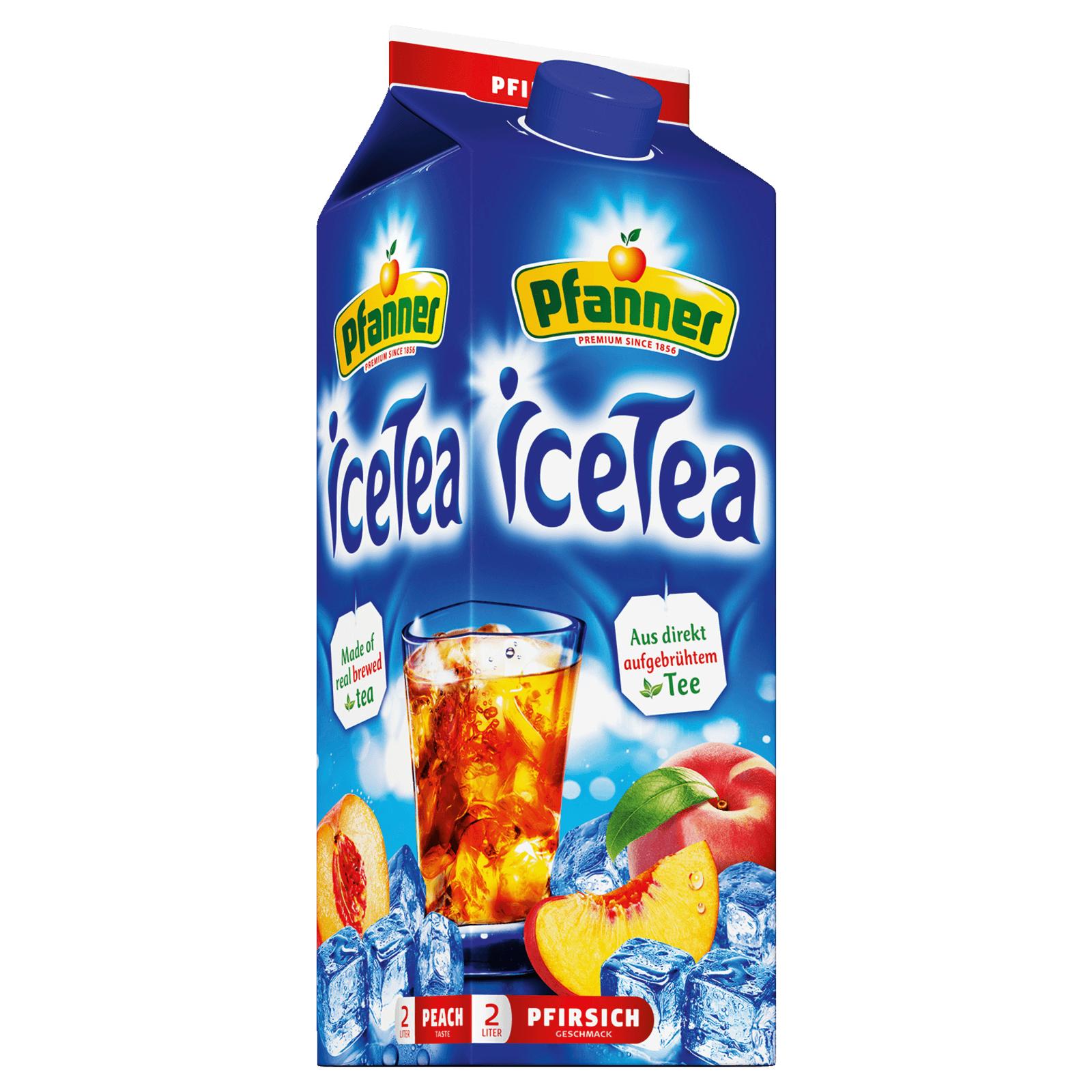 [Marktguru] Pfanner Eistee 2 Liter für effektiv 0,60€ bei Rewe
