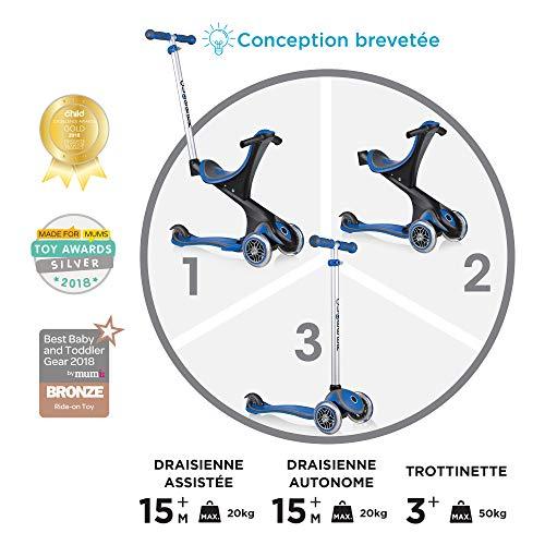 Globber Kinder Scooter EVO COMFORT 5in1 für 45,82€