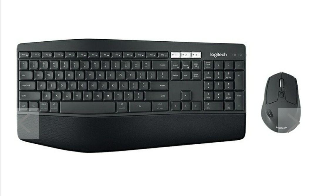 Logitech MK850 Performance - Tastatur-und-Maus-Set - Bluetooth, 2,4 GHz - German QWERT Z