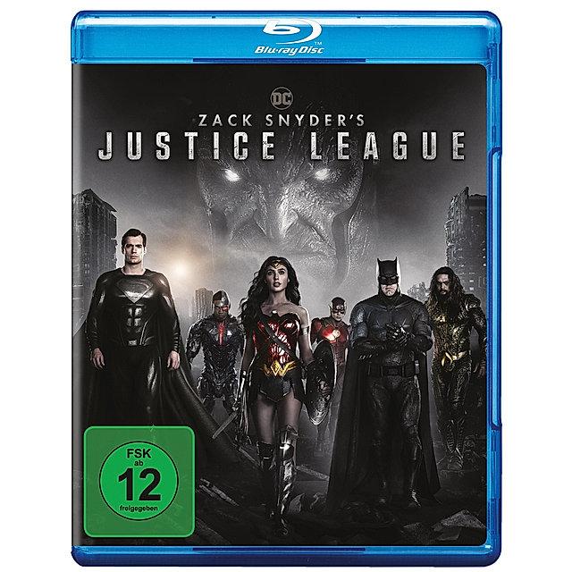 Weltbild.de: Zack Snyder's Justice League Bluray durch Newsletter Gutschein für 14,99€ (versandkostenfrei aktuell)