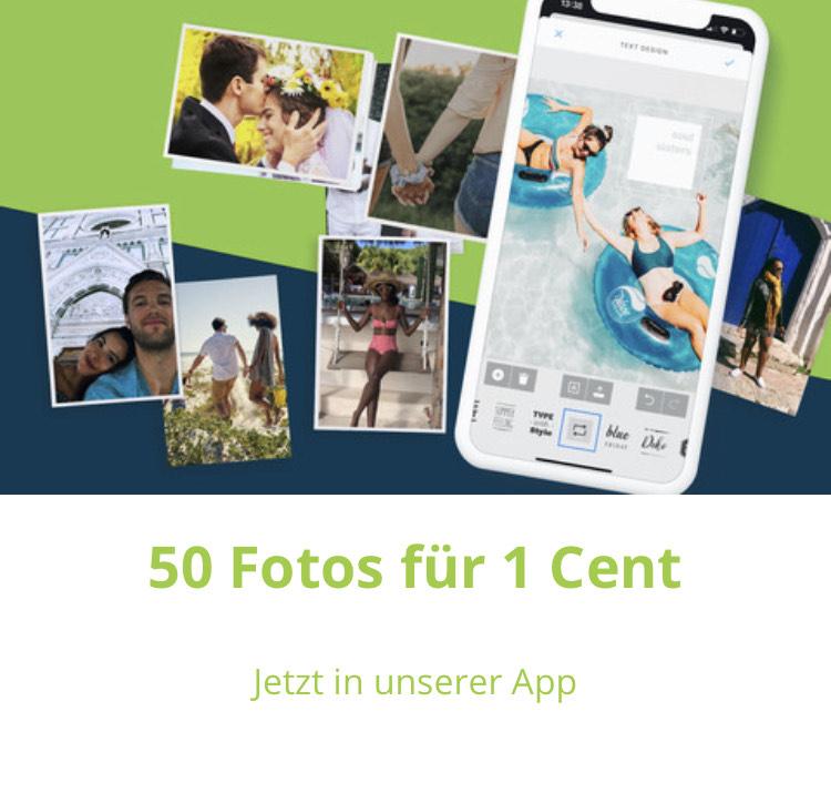 50 Fotoabzüge für 1 Cent(jeden Monat möglich) | 20% - 30% Rabatt mit Gutscheincode