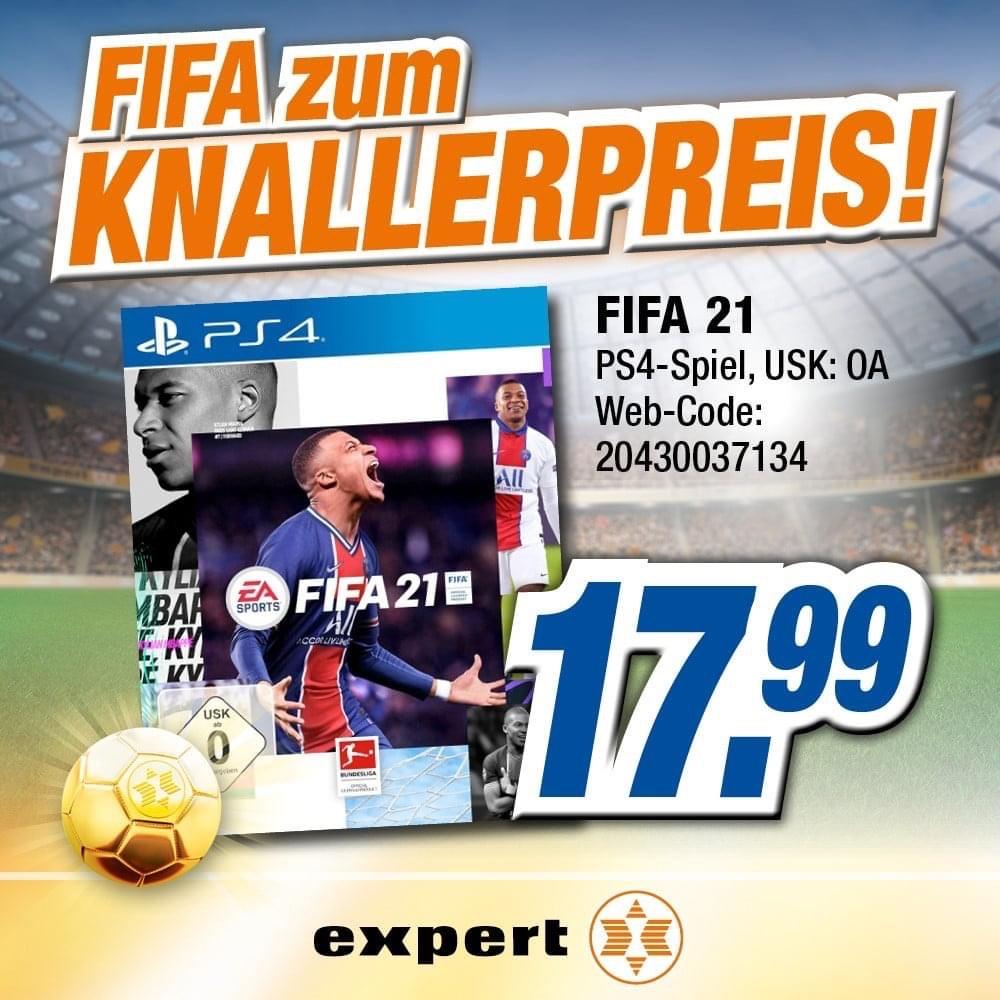Fifa 21 für PS4 in Expert online/offline