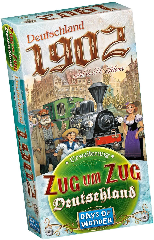 Zug um Zug - Erweiterung Deutschland 1902 [Prime]