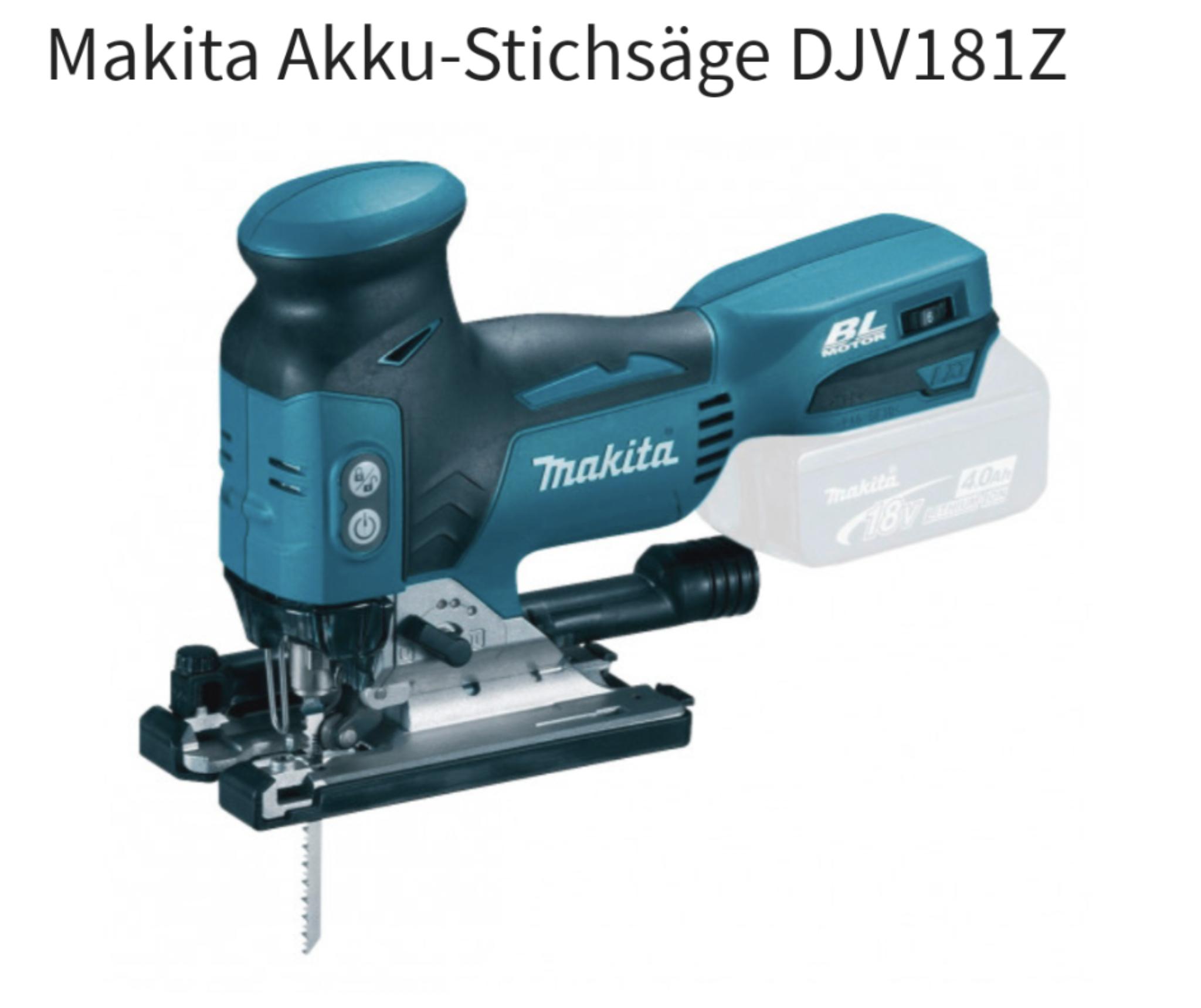 Makita Akku-Stichsäge DJV181Z