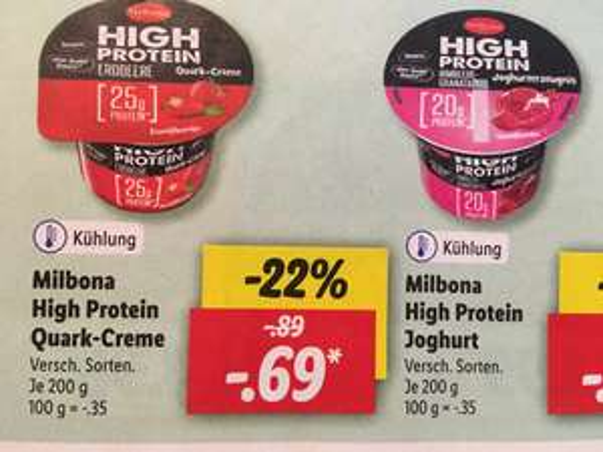 Lidl High Protein Pudding / Quark