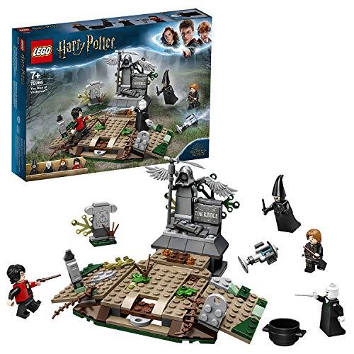 [amazon uk   prime   EOL] LEGO 75965 Harry Potter Der Aufstieg von Voldemort, Sammlerbauset für Fans der Zauberwelt