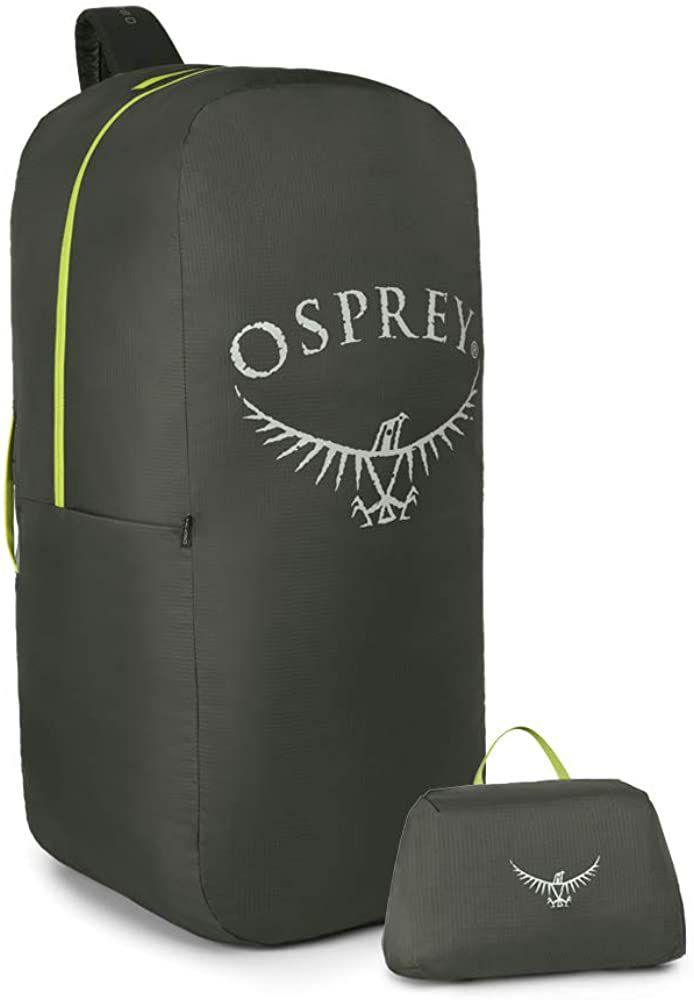 Osprey Unisex Airporter Backpack Cover, Größe L(75L-110L), Rucksackhülle wasserdicht, Farbe Shadow Grey [Amazon Prime]