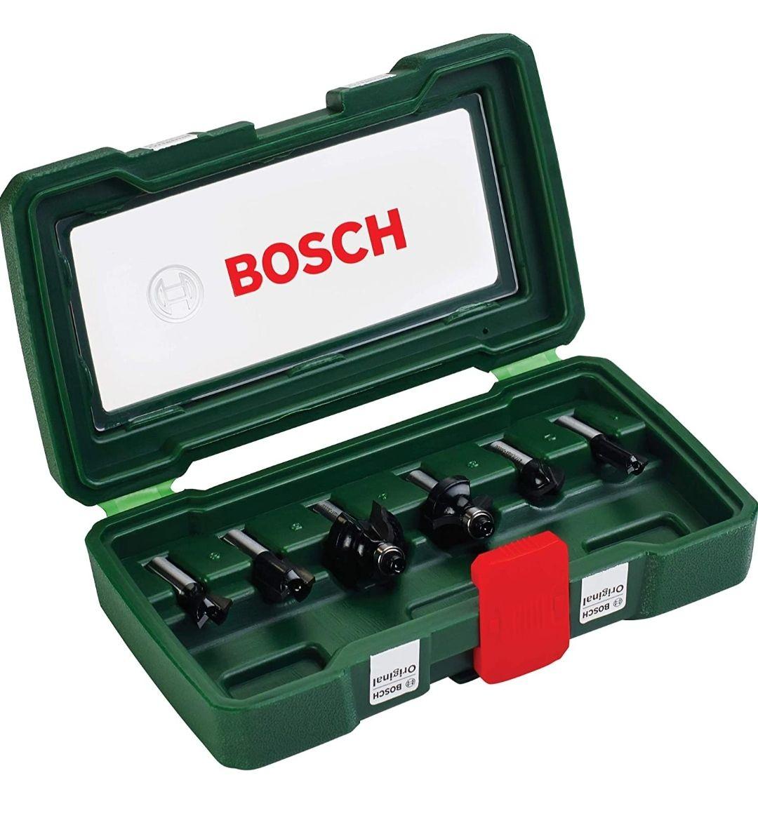 [Amazon Prime] Bosch 6tlg. Hartmetall Fräser Set