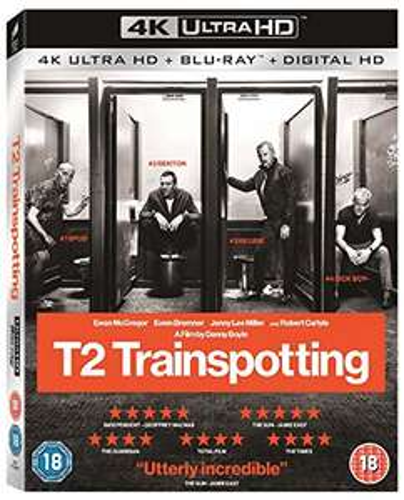 T2 Transpotting [4K Blu- ray] mit deutschem Ton (Prime)