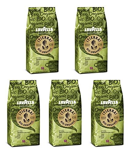 (Prime) Lavazza Tierra Organic Kaffeebohnen 5 x 500g, (10 € für 1kg)