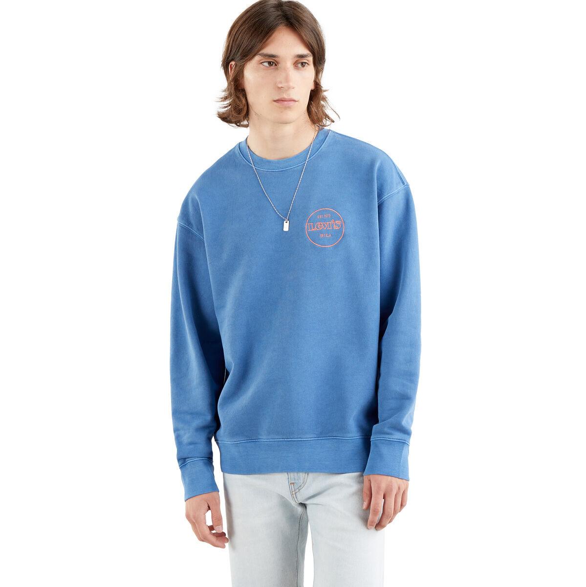 25% Rabatt auf reduzierte T-Shirts, Tops, Polos, Sportbekleidung, Handtaschen, Reisegepäck usw, z,B. Levi's Sweatshirt mit Logo-Stitching