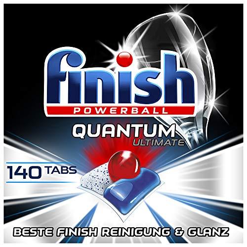 [Amazon Sparabo + Coupon] 140 Finish Quantum Ultimate Spülmaschinentabs