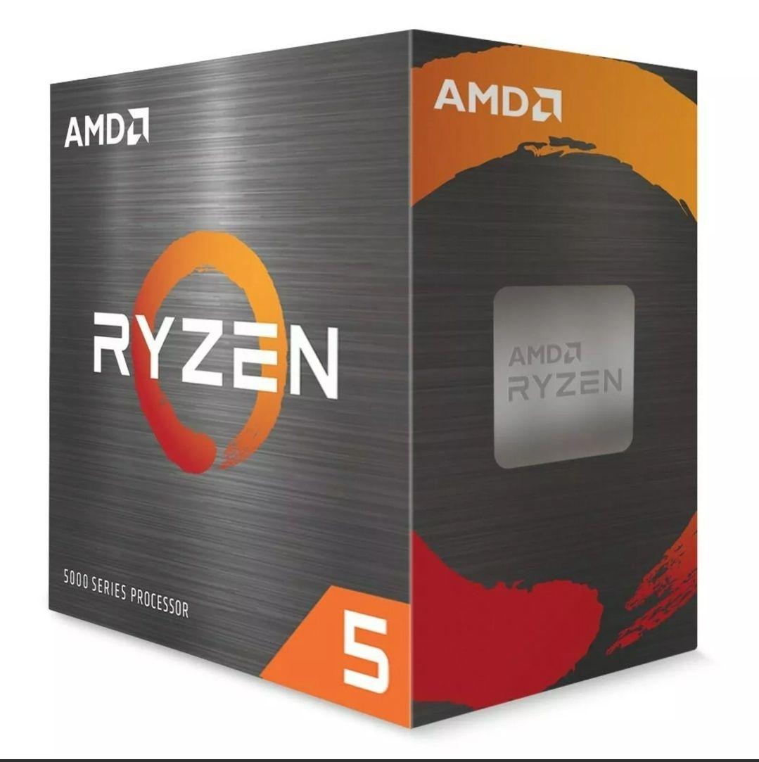 AMD Ryzen 5 5600X CPU BOX Prozessor, 6-Core, 3,7GHz, Socket AM4