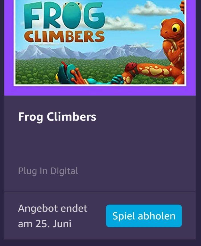 Frog Climbers bei Amazon Games gratis