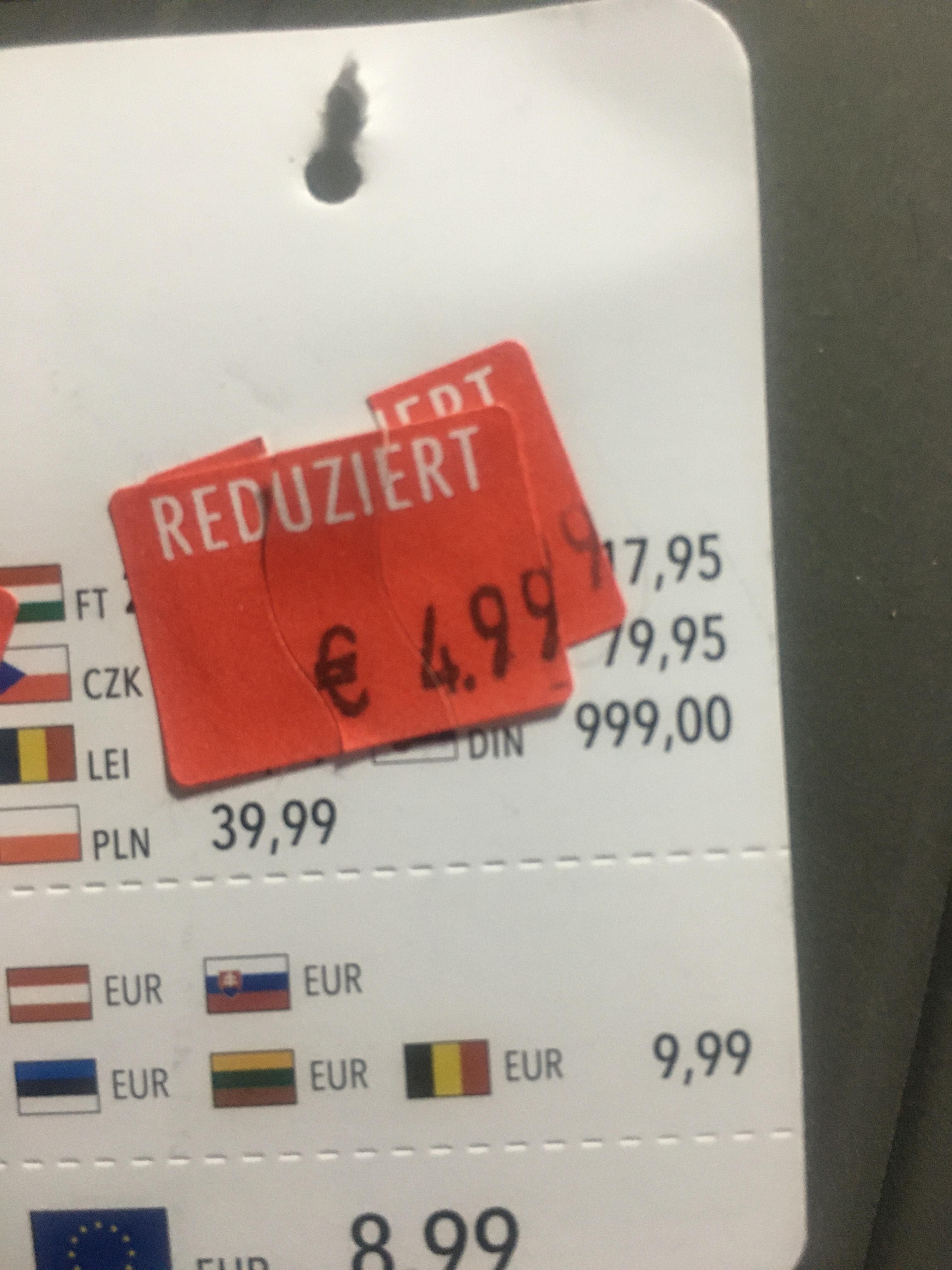 Bei Takko in Wesseling 50% auf reduizerten Preis