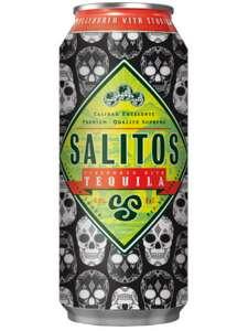 Salitos Tequila Skull Edition, Bier mit Tequila-Geschmack, 0,5l Dose für 79 Cent [Netto MD mit App]