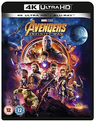 Avengers - Infinity War (4K Blu-ray + Blu-ray) für 13,48€ inkl. Versand (Amazon Prime)