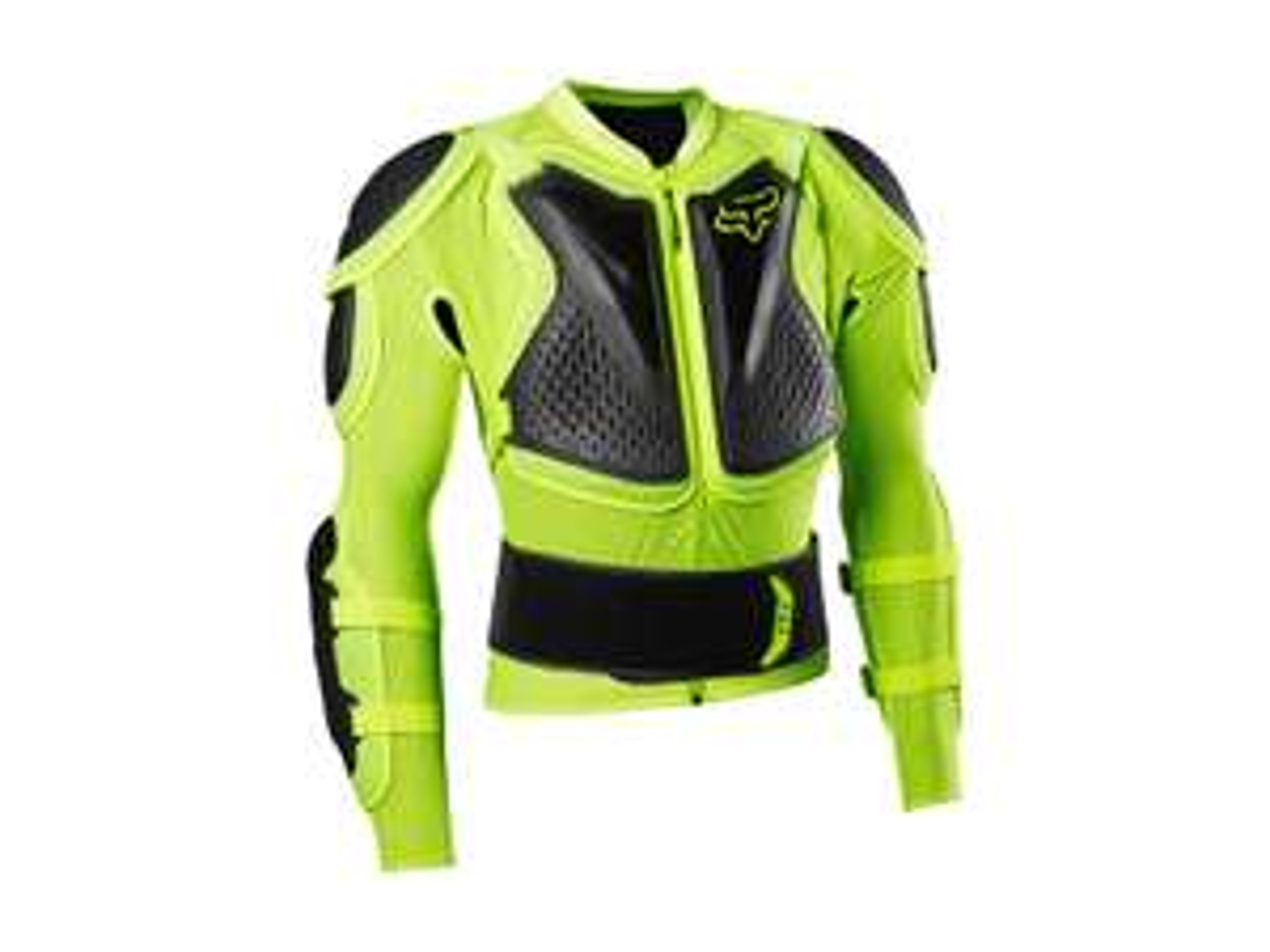 Fahrräder/Moto-Cross Fox Titan Sport Protektorenjacke 2020 (S,M, Gelb)