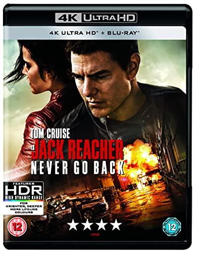 Jack Reacher: Kein Weg zurück (4K Blu-ray + Blu-ray) für 4,20€ inkl. Versand (Amazon Prime)
