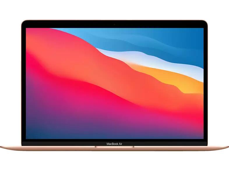 Apple MacBook Air MGNE3D/A M1 (8-Core CPU, 8-Core GPU), 8GB RAM, 512GB SSD, gold