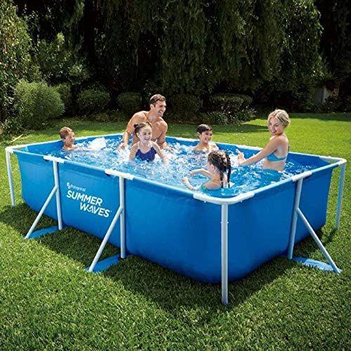 Rectangular Frame Pool Summer Waves LxBxH 300 x 200 x 75 cm, 3520 l online Mifus, offline Rofu ab 31.05.21