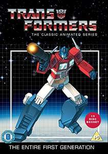 [amazon] Transformers - Classic Animated Collection (13 discs - DVD) UK Import