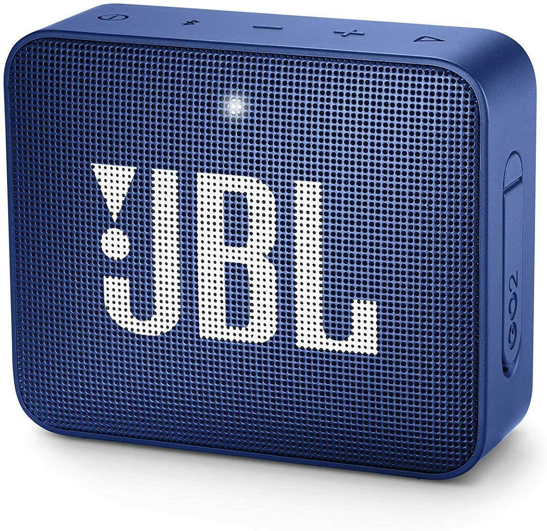 JBL GO 2 Bluetooth-Lautsprecher - blau (Amazon UK)