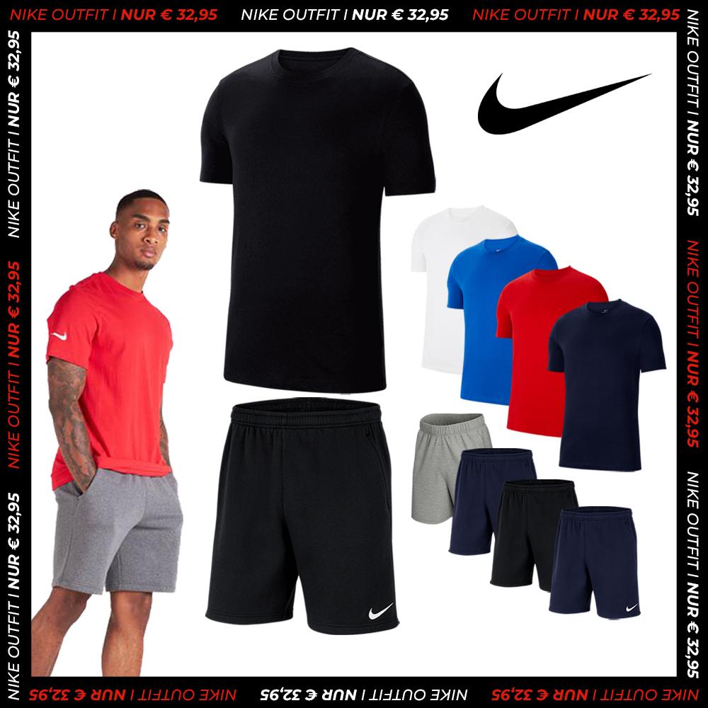 Nike Freizeit Outfit Team Park 20 (Größen S bis XXL, 8 verschiedene Farben zur Auswahl)