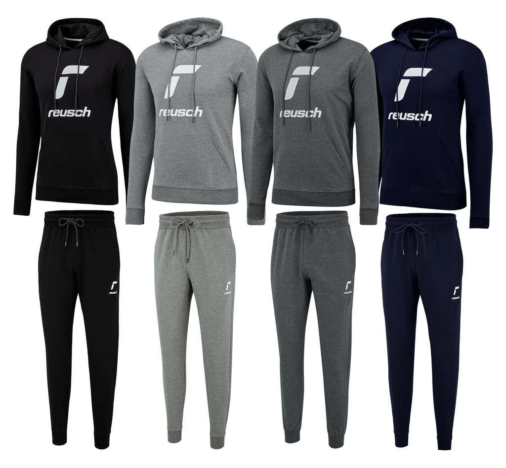 Reusch Baumwoll-Jogginganzug Essentials Logo (Größen S bis XXL)