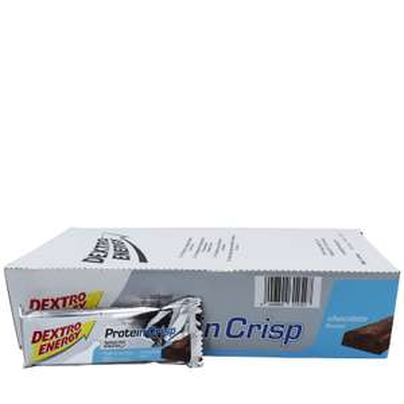 Dextro Energy Proteinriegel Crisp Chocolate 24er Pack 10€ (42Cent pro Riegel!) MBW:25€