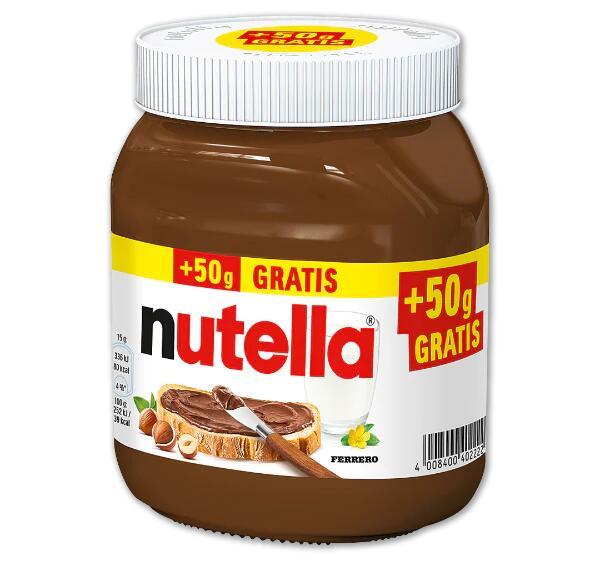 Penny Nutella 500g Glas für 1,79 € (1kg=3,58 €)