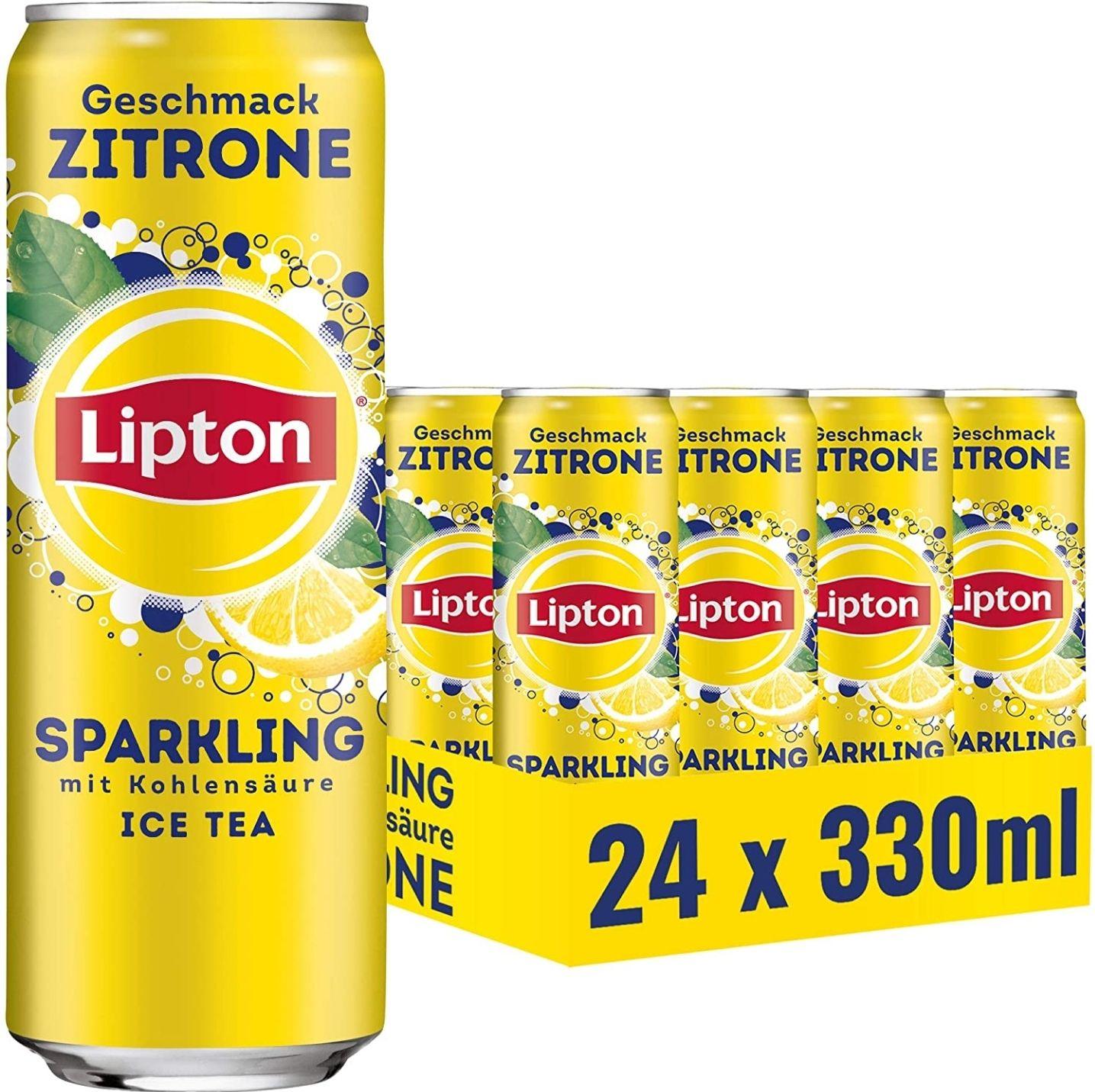 Lipton Sparkling Zitrone (24 x 0,33l) [Pfandfehler? ]