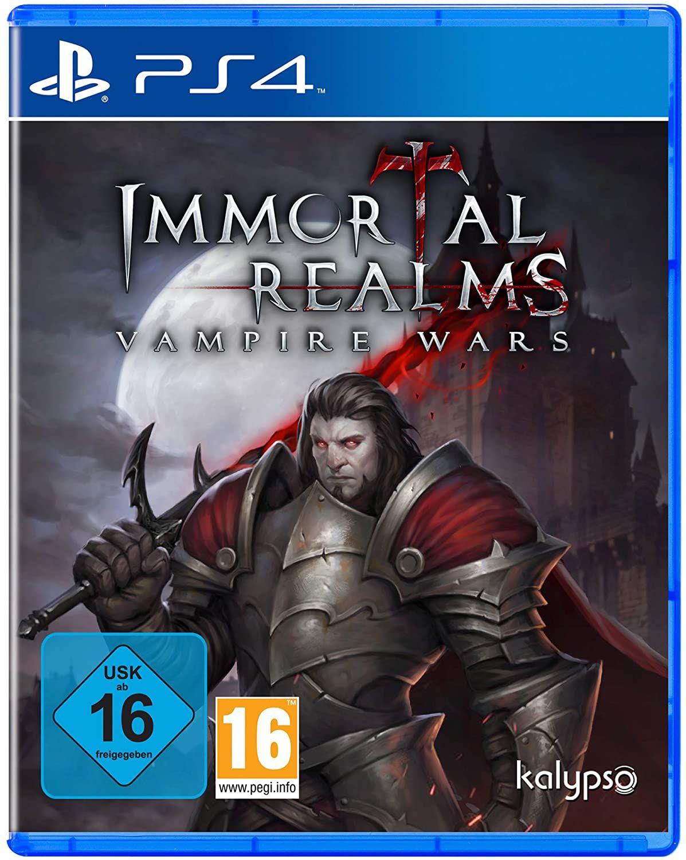Immortal Realms: Vampire Wars (Playstation 4) [Amazon Prime]
