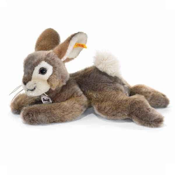 Steiff 080050 Dormili 32 cm braun gefleckt liegend Hase