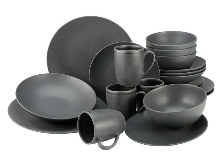 CreaTable 20-teiliges Kombiservice (Steinzeug, 4 Speiseteller, 4 Suppenteller, 4 Dessertteller, 4 Kaffebecher, 4 Müslischalen) [XXXLutz]
