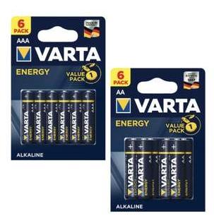 [Kaufland ab 10.06] VARTA Energy Alkaline Batterien in AA oder AAA 6 Stück für je 1,-€