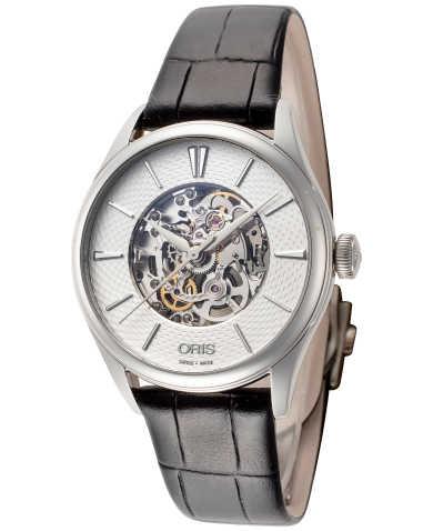ORIS Artelier Skeleton Automatikuhr Watch 28.800 Saphirglas 33mm