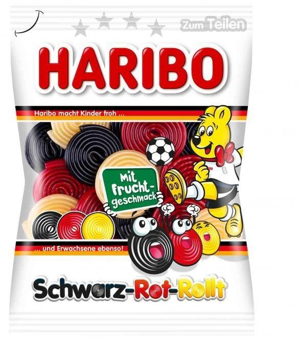 ALDI: HARIBO Schwarz-Rot-Rollt Schnecken (175g) -34%