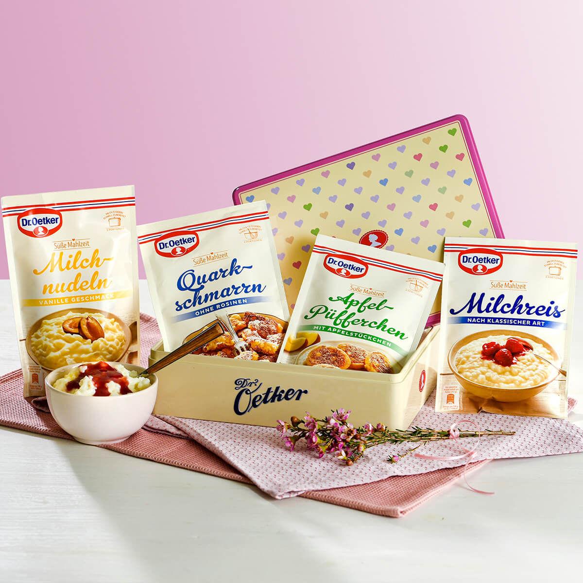 [Kaufland Do-Mi] 3x Dr. Oetker Süße Mahlzeiten z.b. Milchreis mit Coupon für 1,37€ (Stückpreis = 0,46€)