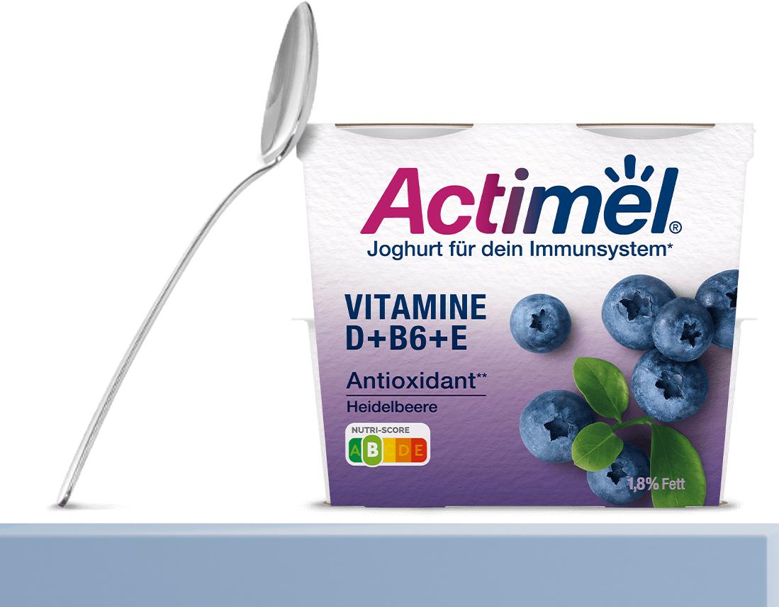GzG Actimel Joghurt GRATIS testen