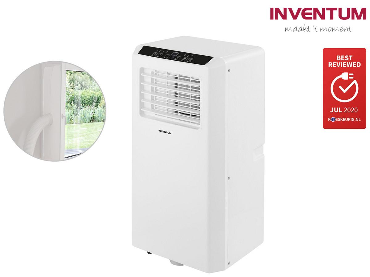 Inventum AC701 mobile Klimaanlage (7.000 BTU bzw. 2050W Kühlleistung, inkl. Ablaufschlauch & Dichtungsmaterial, 5J Garantie)