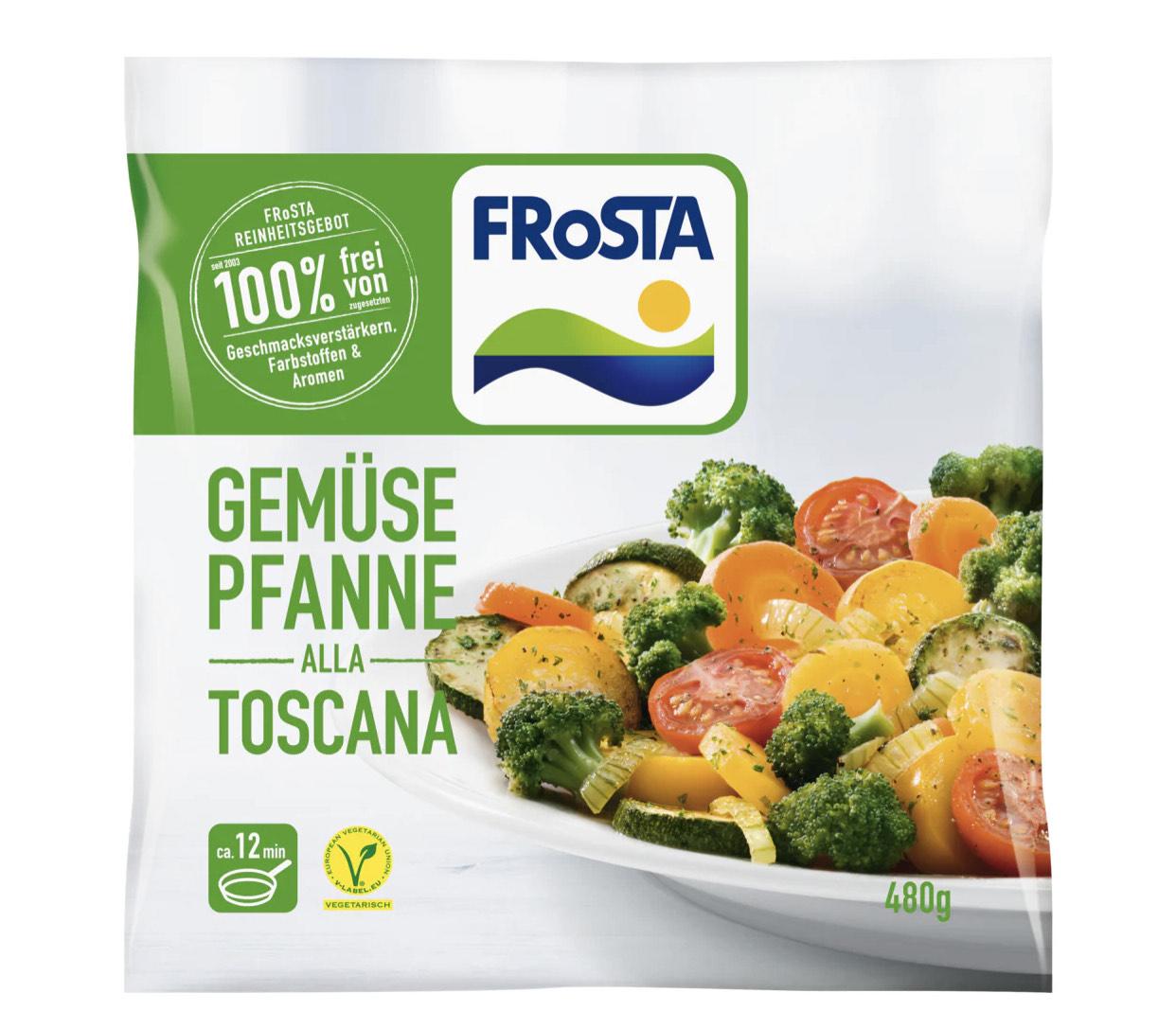Bundesweit - Edeka und Bringmeister - Frosta Gemüse Pfanne Toskana - 1,69€ möglich durch Kombination.