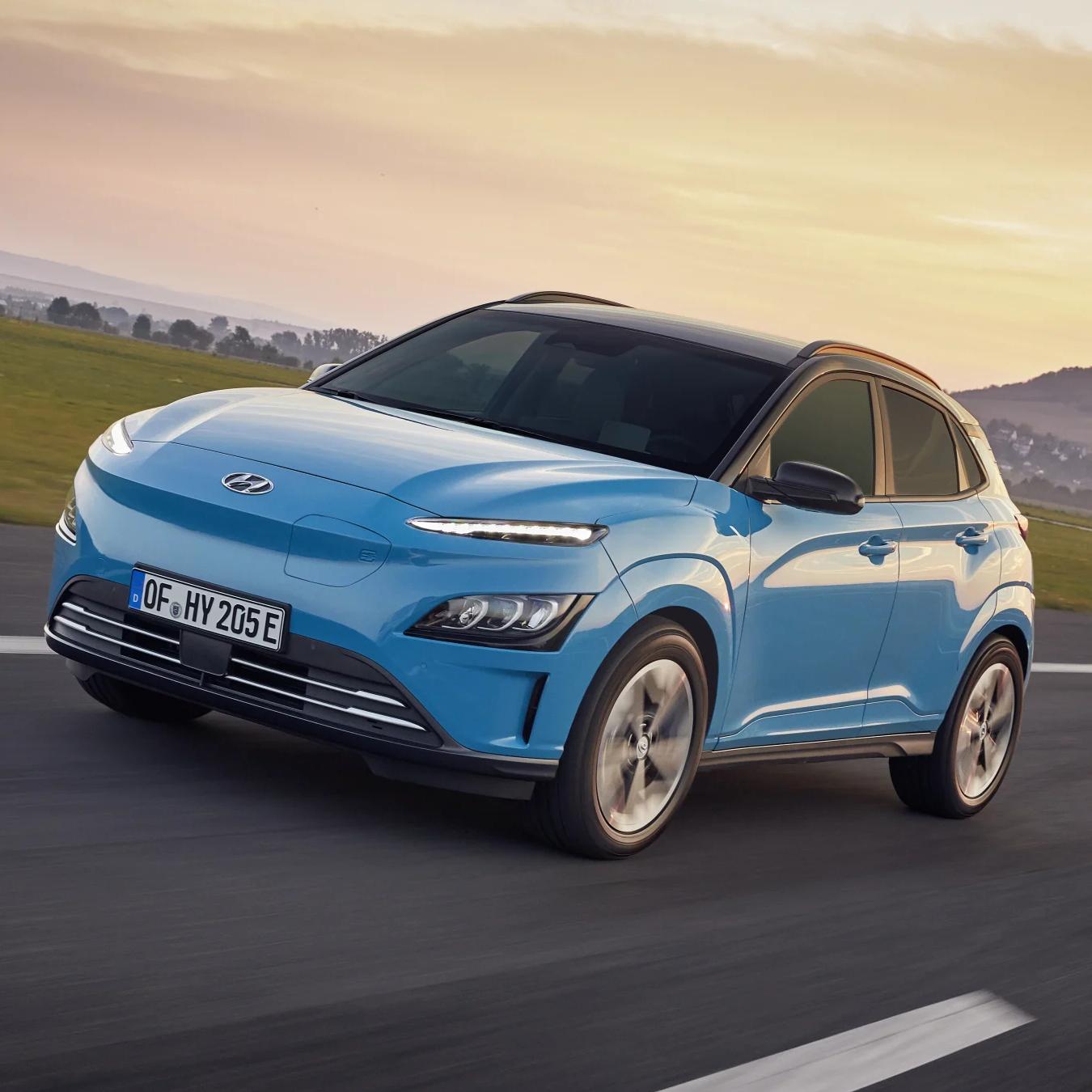 [Gewerbeleasing mit Abrufschein] Hyundai Kona Elektro (136 PS, 39,2 kWh) mtl. 11,99€ + 832€ ÜF (eff. 47€), LF 0,04, GF 0,16, 24 Monate, BAFA