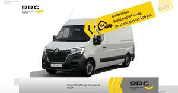 Gewerbe Leasing: Renault Master L2H2 3,3t dCi 135 (91,50€ netto mtl. Eff:126€) - LF: 0,26