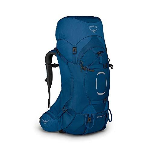 (Amazon) Osprey Aether 55 Trekkingrucksack inkl. Regenhülle
