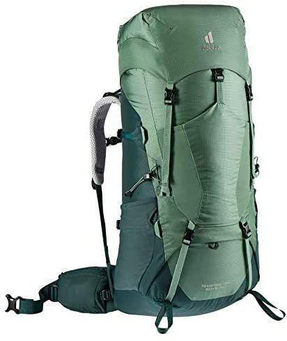 deuter Aircontact Lite 60+10 SL Damen Trekking Rucksack, Farbe Aloe-Forest, Modell 2021 [Amazon]