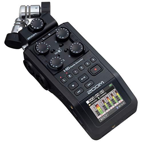 Zoom H6 - mobiler 6-Spur-Audiorekorder
