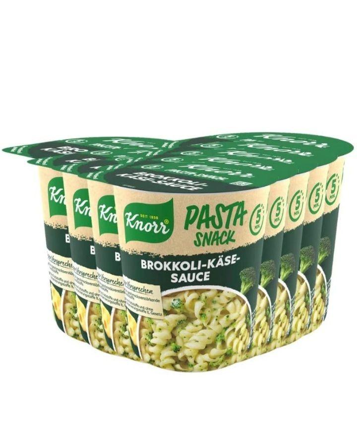 8x Knorr Pasta Snack Brokkoli-Käse-Sauce mit Prime Abo und 30% Aktivierungscode