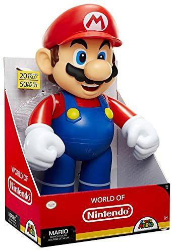 Jakks Pacific - XXL Super Mario Figur, mit 50 cm Höhe und 1,3 kg Gewicht [Media Markt Abholung]